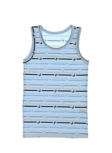 Donella Denizci Temalı Erkek Çocuk Atlet Mavi